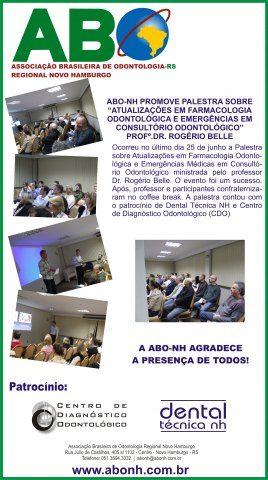 ATUALIZAÇÕES EM FARMACOLOGIA ODONTOLÓGICA E EMERGÊNCIAS MÉDICAS EM CONSULTÓRIO ODONTOLÓGICO
